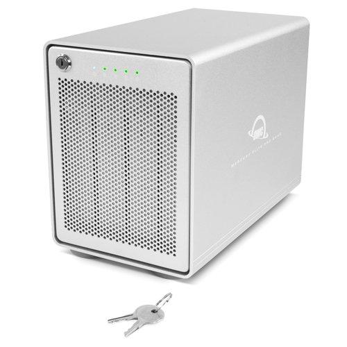 OWC Mercury Elite Pro Quad 4Bay USB-C RAID Gehäuse 0GB OWCMEQCTJBT00