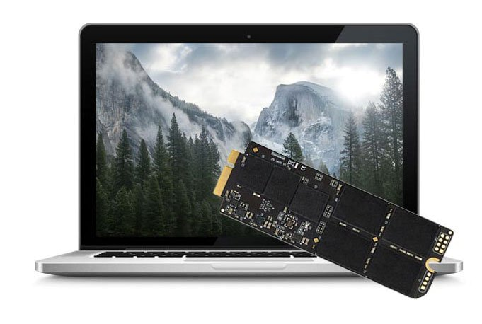 480 GB SSD Upgrade Macbook Pro Retina Mid 2012 / Early 2013 inkl. Einbau