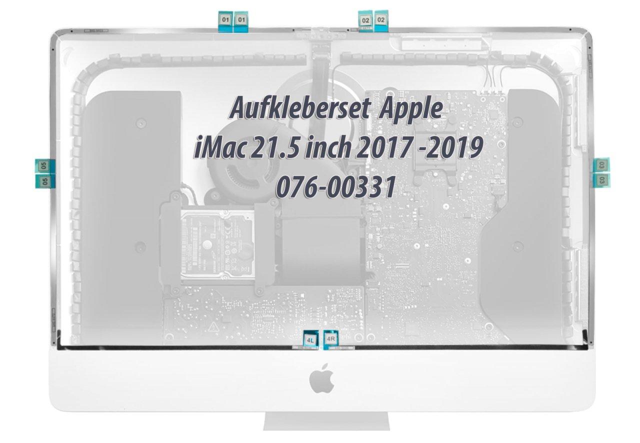 Apple Aufkleberset für LCD iMac 21.5 inch A1418 / A2116 2017-2019 076-00331