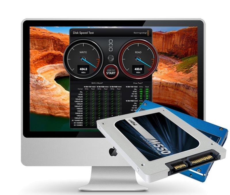 iMac Early 2009 500 GB SSD Upgrade inkl. Einbau