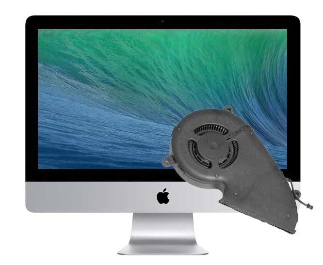 Reparatur Lüfter Apple iMac 21.5 inch A1418 Late 2012 und Early 2013