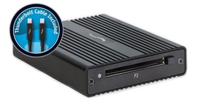 SONNET Thunderbolt Pro P2 Card Reader TB-P2