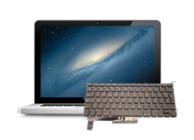 Tastatur Macbook Pro Flüssigkeitsschaden