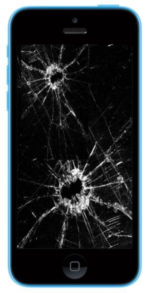 Iphone 5 C Austausch Frontglas mit Digitizer alle Farben