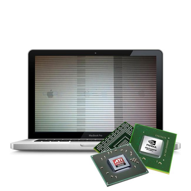 Grafikfehler Macbook A1286