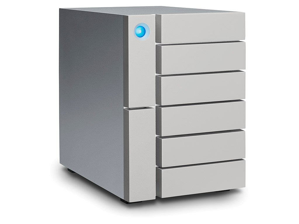 LaCie 6big Thunderbolt 3 84TB 6 x 14 TB (7200 RPM) Enterprise HDD