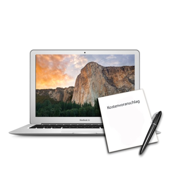 Diagnose Kostenvoranschlag alle MacBook Air ab 2009 und später