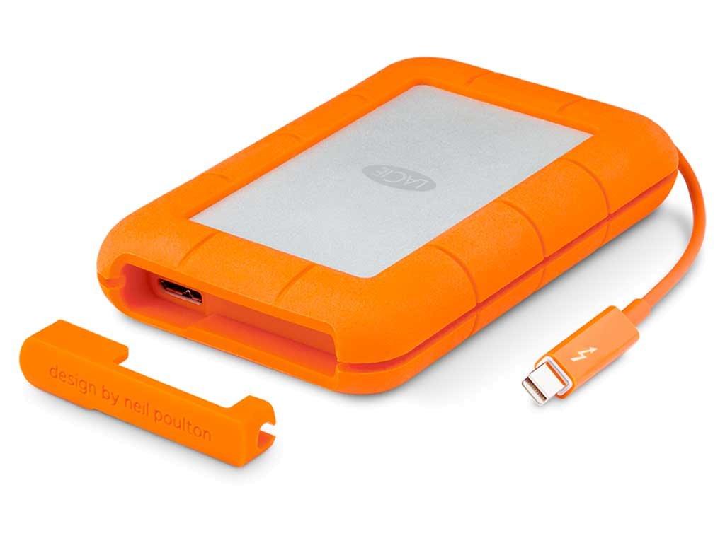 LaCie Rugged Thunderbolt/USB 3.0 2TB STEV2000400
