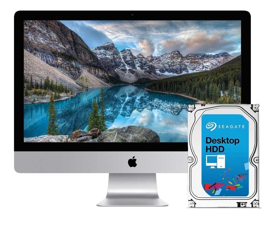 3TB Reparatur Festplatte iMac 27 inch A1419 Late 2012 - Late 2015 Retina