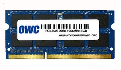 OWC 8GB DDR3 SO-DIMM PC3-8500 1066Mhz