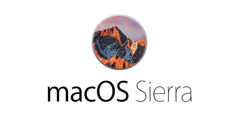 Dienstleistung Installation Mac OSX Sierra 10.12