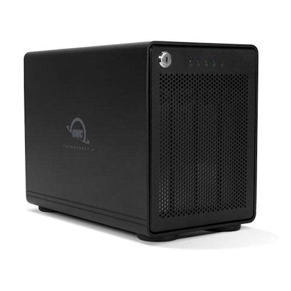 OWC ThunderBay 4, 4-Bay SoftRAID Gehäuse, Thunderbolt 3 OWCTB3SRKIT0GB